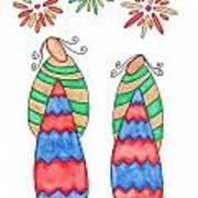 Lupita Fireworks Art Print