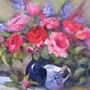 Luscious Roses Art Print