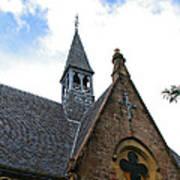 Luss Church Steeple Art Print