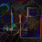 Lute By Night Art Print