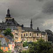 Luxembourg City Art Print