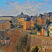 Luxembourg Fortification Art Print