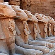 Luxor Temple 3 Art Print