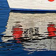 Lyme Regis Harbour - December Art Print
