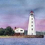 Lynde Point Lighthouse Art Print
