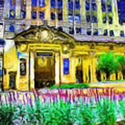 Lyric Opera House Of Chicago Art Print