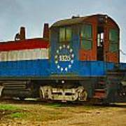 M A Patout Sugar Mill Train Art Print