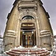 M And T Bank Downtown Buffalo Ny 2014 V2 Art Print