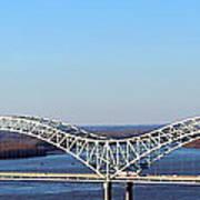 M Bridge Memphis Tennessee Art Print