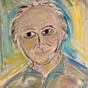 M. Portrait  Art Print