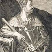 M Silvius Otho Emperor Of Rome Print by Titian