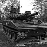 M551a1 Sheridan Tank Art Print