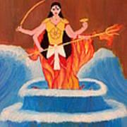 Ma Bharati Art Print