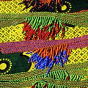 Maasai Beadwork Art Print