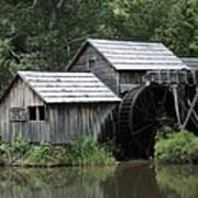 Mabry Mill - Blue Ridge Mountains Art Print