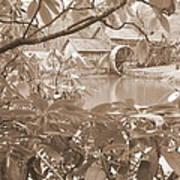 Mabry Mill In Sepia Art Print