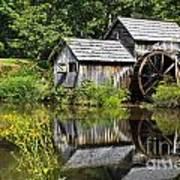Mabry Mill In Virginia Art Print