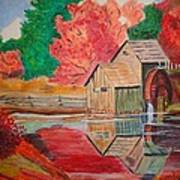 Mabry Mill On The Blue Ridge Parkway Art Print