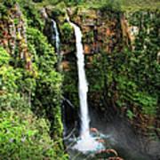 Mac Mac Waterfall In South Africa Art Print