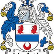Macardle Coat Of Arms Irish Art Print