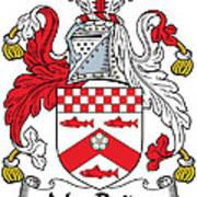 Macbride Coat Of Arms Irish Art Print