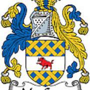 Maccann Coat Of Arms Irish Art Print