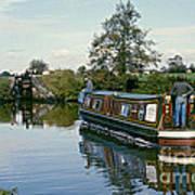 Macclesfield Canal 1975 Art Print by David Davies