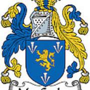 Maccoglan Coat Of Arms Irish Art Print