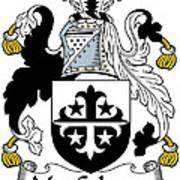 Maccolman Coat Of Arms Irish Art Print