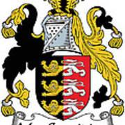 Macconsidine Coat Of Arms Irish Art Print