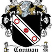 Macconway Coat Of Arms Irish Art Print