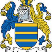 Maccoyle Coat Of Arms Irish Art Print