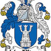 Macelligott Coat Of Arms Irish Art Print