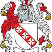 Macenright Coat Of Arms Irish Art Print