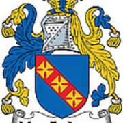 Macfadyen Coat Of Arms II Irish Art Print