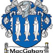 Macgahan Coat Of Arms Irish Art Print
