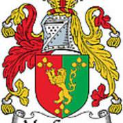 Macgaynor Coat Of Arms Irish Art Print