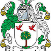 Macgeraghty Coat Of Arms Irish Art Print