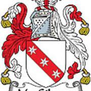 Macgilmore Coat Of Arms Irish Art Print