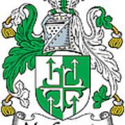 Macgogarty Coat Of Arms Irish Art Print