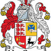 Macgraw Coat Of Arms Irish Art Print