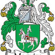 Macguire Coat Of Arms Irish Art Print