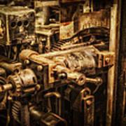 Machine Part Art Print