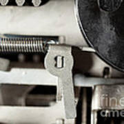 Machine Parts Art Print