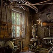 Machinist - Industrial Revolution Art Print