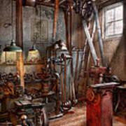 Machinist - The Modern Workshop  Art Print