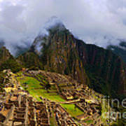 Machu Picchu Overlook Art Print