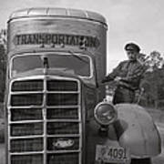 Mack Truck  1943 Art Print