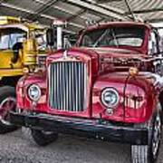 Mack Truck V2 Art Print