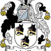 Mackee Coat Of Arms Irish Art Print